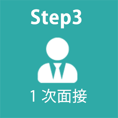 Step3 1次面接